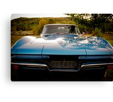 This is Corvette Country! Canvas Print