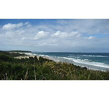 Overlooking Caves Beach  Photographic Print