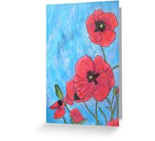 Poppies XIII Greeting Card