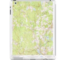 Massachusetts  USGS Historical Topo Map MA Sterling 350625 1968 24000 iPad Case/Skin