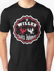 Willes - Eagle Red,White Unisex T-Shirt