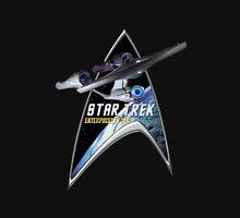 StarTrek Command Silver Signia Enterprise 1701 A Unisex T-Shirt