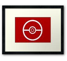 Pokemon Pokeball 3 Framed Print