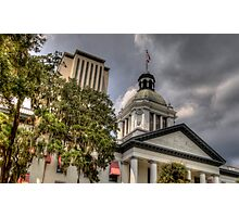 Florida State Capitol - Crop Photographic Print