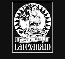 Latex Maid - White Unisex T-Shirt
