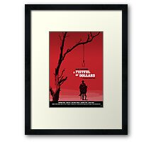 A Fistful of Dollars - Movie Poster Framed Print