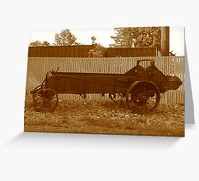 Old Time Auto?? Greeting Card