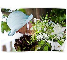 Bouquet And Bonnet Poster