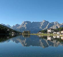 Lake Misurina, Dolomites, Italy by Trine