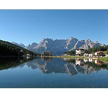 Lake Misurina, Dolomites, Italy Photographic Print