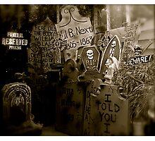 eerie gathering Photographic Print