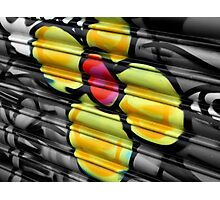 Flower shop graffiti Photographic Print