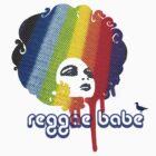 Reggae Babe Tee by Voila and Black Ribbon