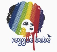 Reggae Babe Tee by Voila and Black Ribbon