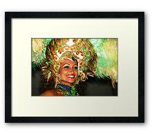 Rhythm Brazil 2 Framed Print