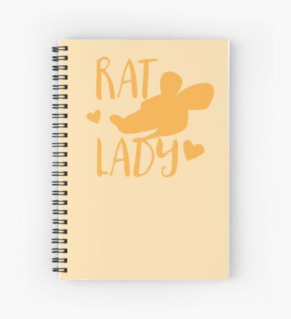 Rat Lady Spiral Notebook