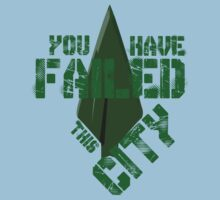 You have failed this city One Piece - Short Sleeve