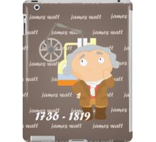 James Watt iPad Case/Skin