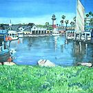 Oceanside Harbor, California by Teresa Dominici