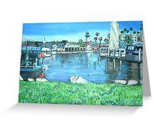 Oceanside Harbor, California Greeting Card