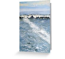 Cornish Wave Greeting Card