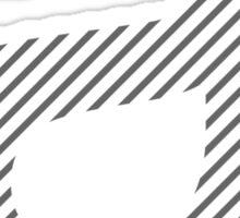 Helvetica A  Sticker