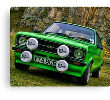 Rally Classic Canvas Print