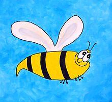 Buzzy the bee by Begow