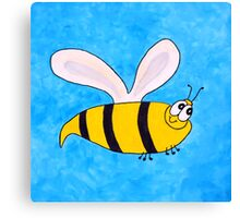 Buzzy the bee Canvas Print