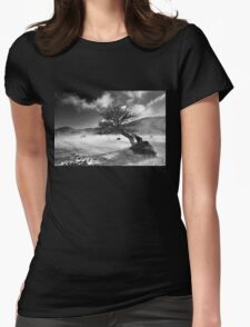 Never surrender! Womens Fitted T-Shirt