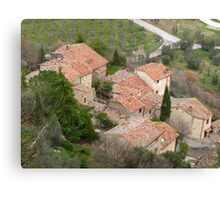 Tuscany - Roof tops Canvas Print