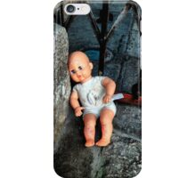 Abandoned doll iPhone Case/Skin