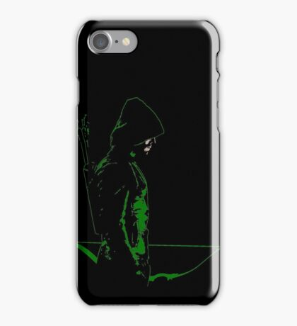 Vigilante all black iPhone Case/Skin