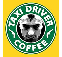 Taxi Driver Coffee. Photographic Print
