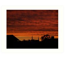 Mackenna's Sunset no.2 Art Print