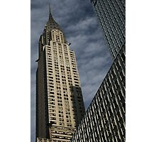 Skyscraper Geometry, Chrysler Building, New York Photographic Print