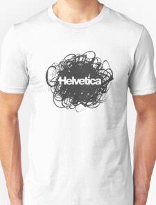 Helvetica Scribble Unisex T-Shirt