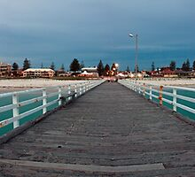 A Grange Jetty Winter by joel Durbridge