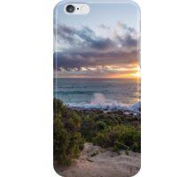Sunset at Conto beach WA iPhone Case/Skin