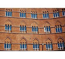 Windows in Siena Photographic Print