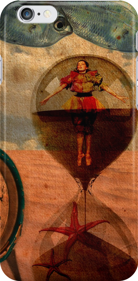 Surrealism On iPhone Cover by Voila and Black Ribbon