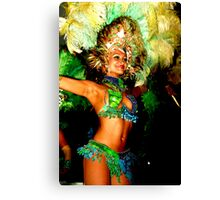 Rhythm Brazil 3 Canvas Print