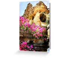 Khajuraho Greeting Card