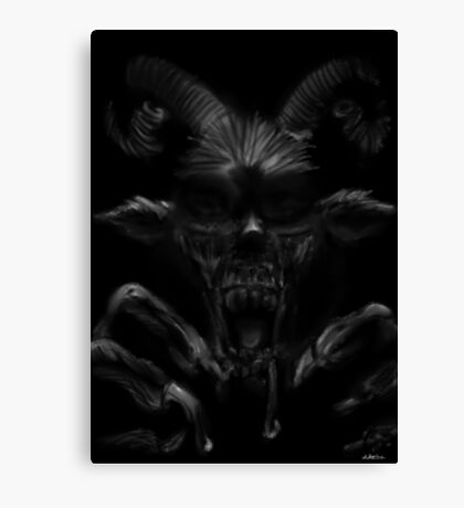 Devil Within Canvas Print