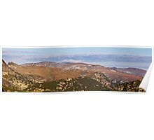 Mountain scape Poster