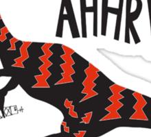 Angry Dino' Sticker