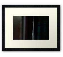 Curtain Twitchers  Framed Print