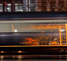 Rush - Flinders Street Station by Kazzart