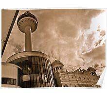 Radio City Tower Poster
