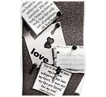 Pinning your hopes on love Poster